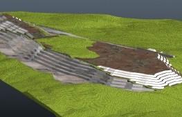 Kübaj Hesabı ve 3D Açık Ocak Modelleme